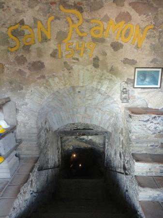 Bocamina SanCayetano: Entrance to the actual mine