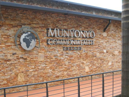 Munyonyo Commonwealth Resort: entrance