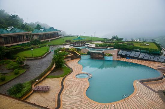 Pool area picture of upper deck resort pvt ltd - Hotel with private swimming pool in lonavala ...