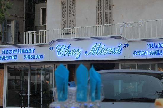 Restaurant Chez Meme: Enseigne