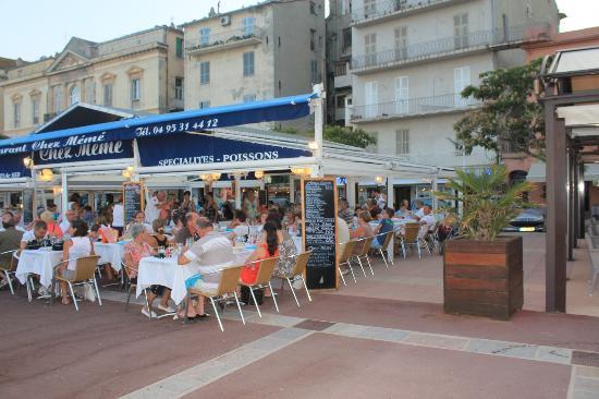 Restaurant Chez Meme: Terrasse