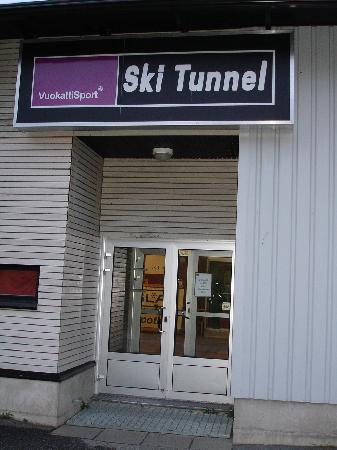 Break Sokos Hotel Vuokatti: Лыжный тоннель работает летом