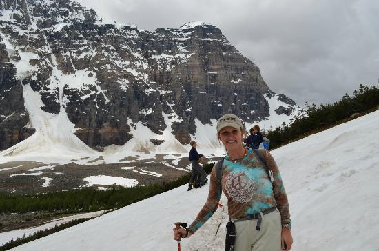 Great Divide Day Hikes: even hiked through the snow in July!