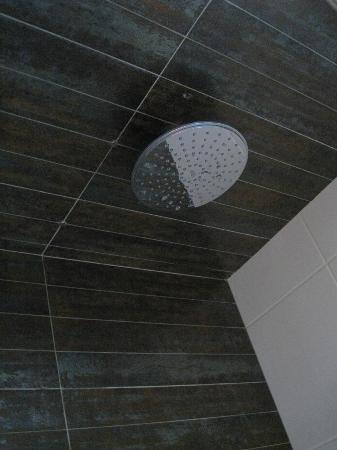 Space Apart Hotel : Rain shower head.