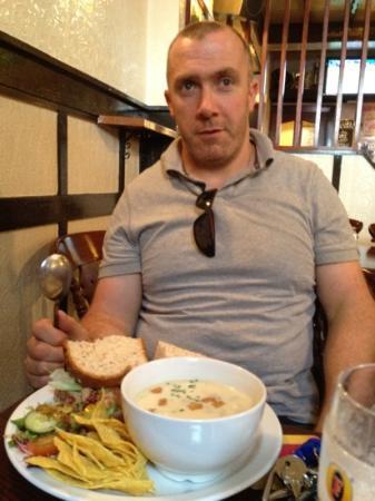 Ayrshire & Galloway Hotel: real hearty food