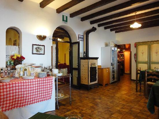 Albergo Rifugio Valdagno : interno ristorante