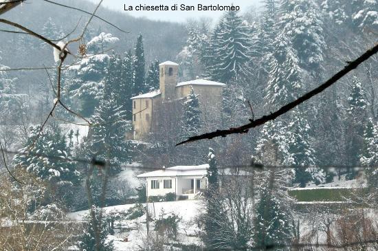 Salo, Italien: la chiesetta di San Bartolomeo Salò
