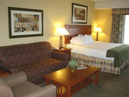 Holiday Inn Express Hotel & Suites Washington: jacuzzi king suite