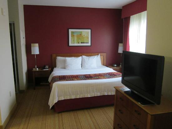 Residence Inn Lexington South/Hamburg Place: very comfortable bed
