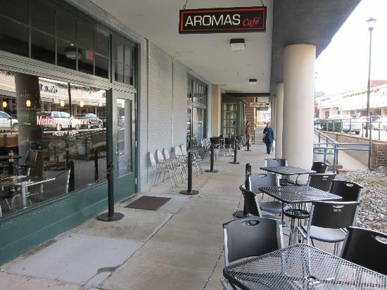 Aromas Cafe, one of the best restaurants in Charlottesville