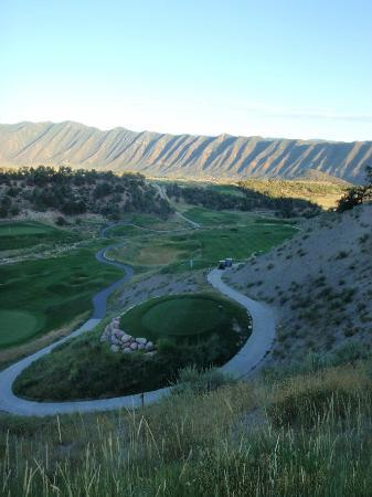 Lakota Canyon Golf Course: Tips Tee box of #8