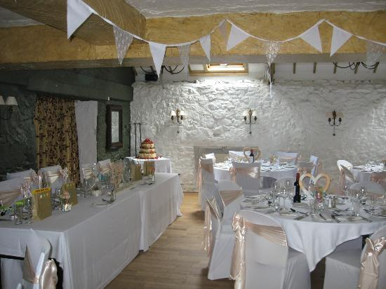 The Bickley Mill: Millers room set up for wedding