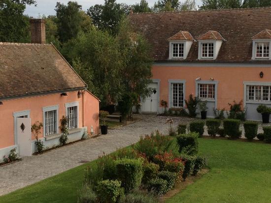Le Manoir de la Grande Commune : The view from Room Number 5