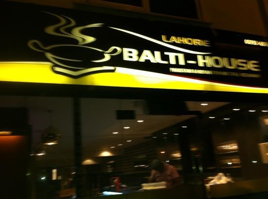 Lahore Balti-House: Lahore Balti house