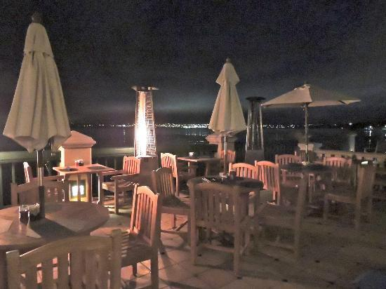outdoor patio dining with heat lamps picture of monterey plaza
