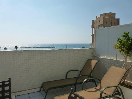 Hotel de la Mer: Balcony view