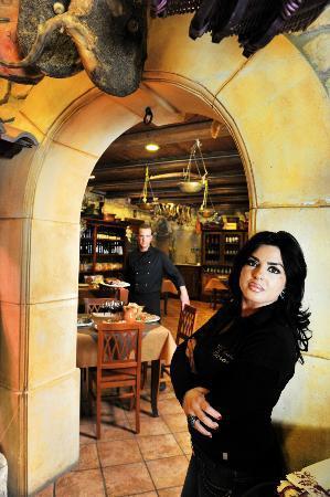 Nocera Superiore, Italie : l'ingresso della saletta di degustazione