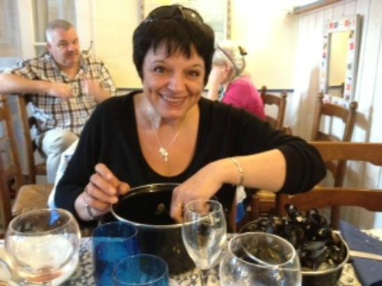 Le Vivier Restaurant : La chanteuse Marie-Pierre APRILE