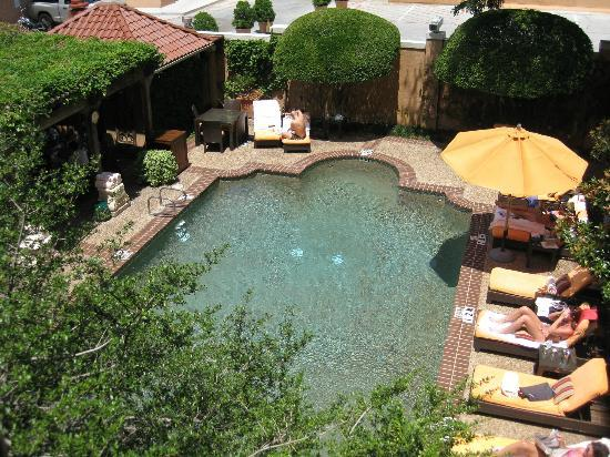 Rosewood Mansion on Turtle Creek: Small But Functional Pool Area