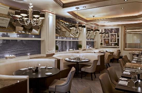 Private dining picture of villa azur restaurant lounge for Best private dining rooms miami