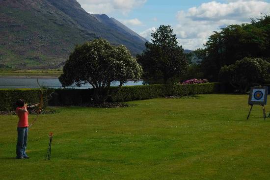 The Torridon Inn: Archery at the Torridon