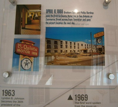 La Quinta Inn & Suites San Antonio Riverwalk:                   Another Section of the La Quinta Motor Inns History
