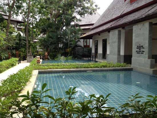 Nakamanda Resort & Spa: vers la reception de l'Hotel.
