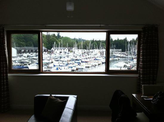 Windermere Marina Village: View from the room