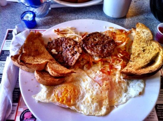 House Of Flavors: my breakfast