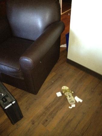 Blackcomb Lodge: Did someone lose a sandal?