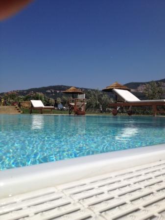 B&B Il Cavallinone: piscina del Cavallinone con Melissa la bagnina