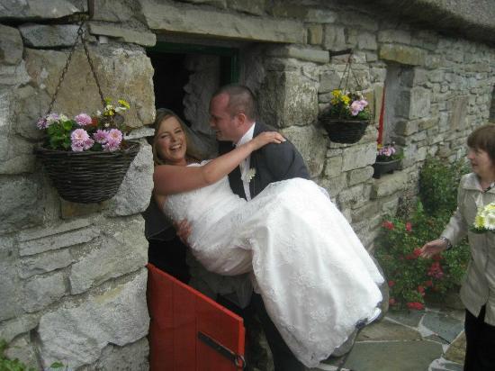 Wedding at Hennigan's Heritage Centre.