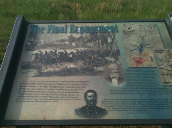 Honey Springs Battlefield: final engagement