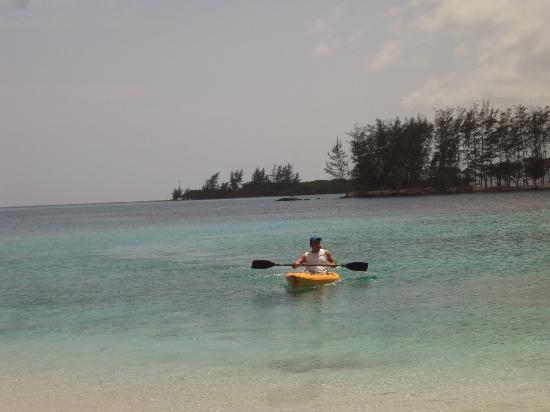 Fantasy Island Beach Resort: Actividades acuaticas (kayak)