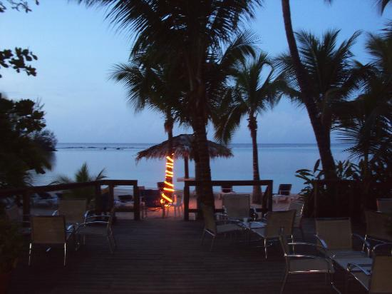 Fantasy Island Beach Resort: vista del var en el amancer