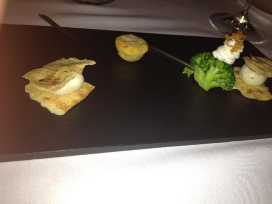 Restaurante Messina: mise en bouche