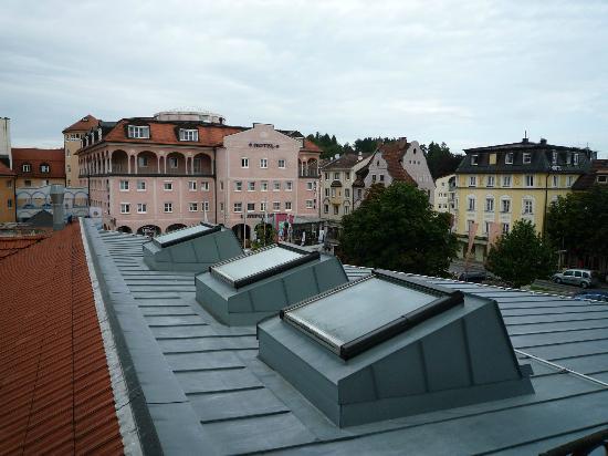 City Apart Hotel Fussen: Vista dalla finestra