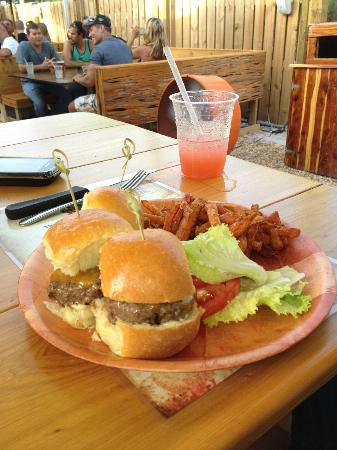 The Backyard: Kobe sliders