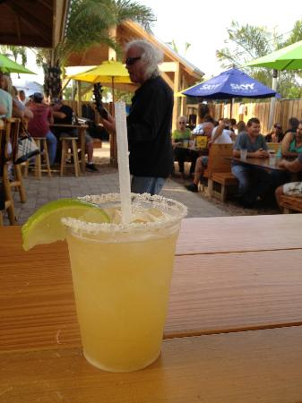 The Backyard: Cadillac margarita!