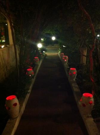 Vecchia Gallura: ingresso ristorante