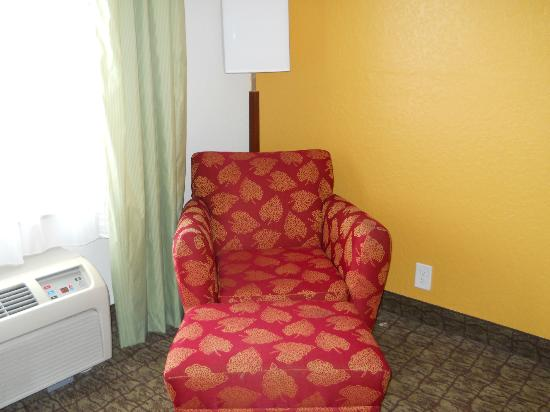 ‪‪Quality Inn Miami Airport‬: Chair in the room