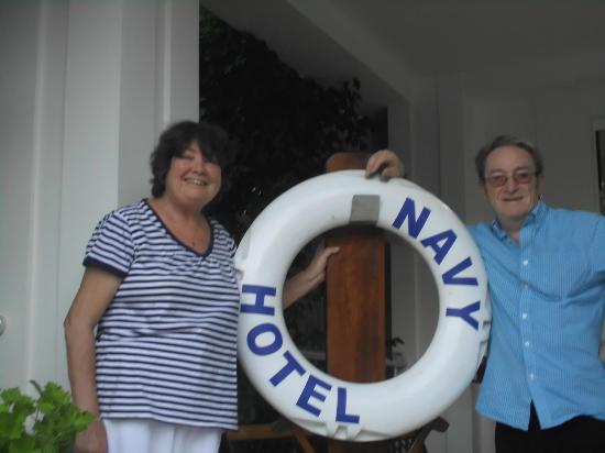 Navy Hotel: Donna & Neil