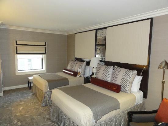 Hamilton Hotel Washington DC: Beautiful Room GREAT RENOVATION