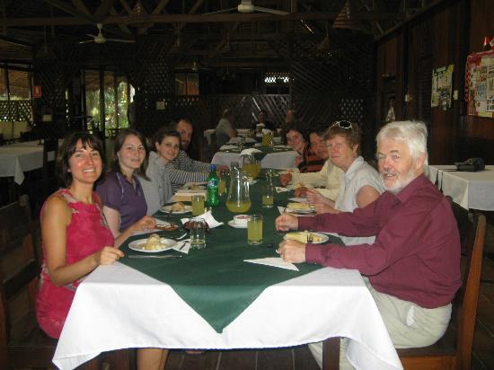 Sandoval Lake Lodge : English group