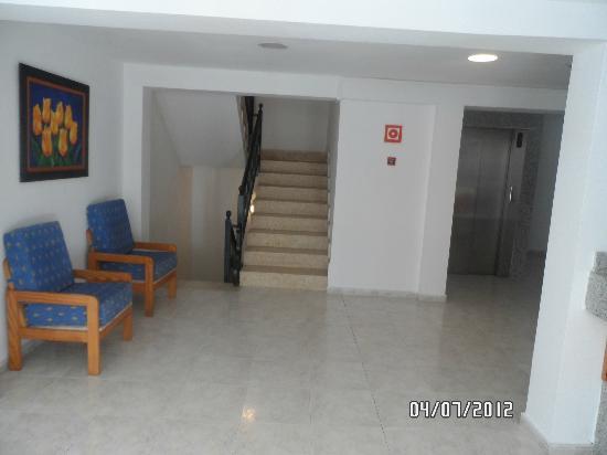 Hotel Mariant: hotelgelände