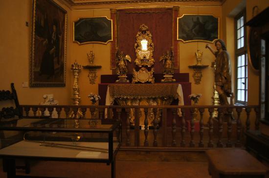 Palais Lascaris : la cappella