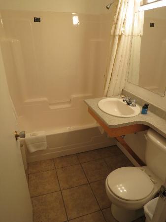Midtown Motel & Suites: Bathroom
