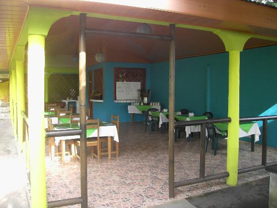 Cabinas El Icaco Tortuguero: Breakfastroom
