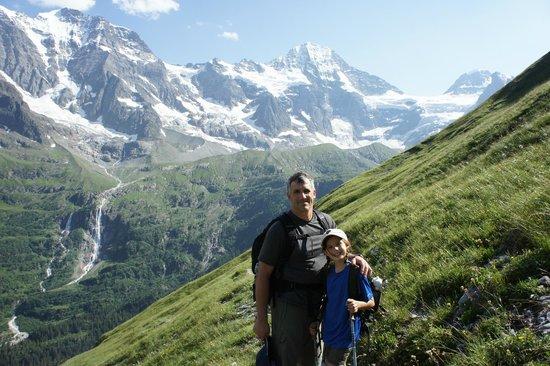 Berggasthaus Obersteinberg: On the trail to Obersteinberg
