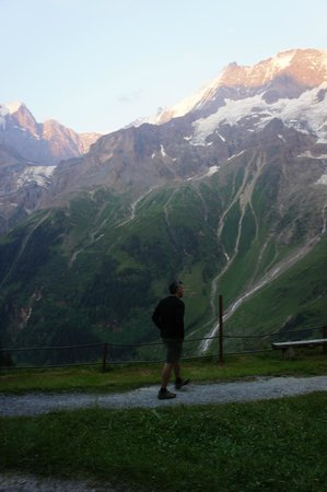 Berggasthaus Obersteinberg: Taking in the breathtaking view